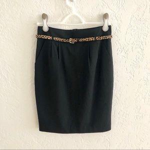 Trina Turk Wool Blend Pencil Skirt With Pockets 4
